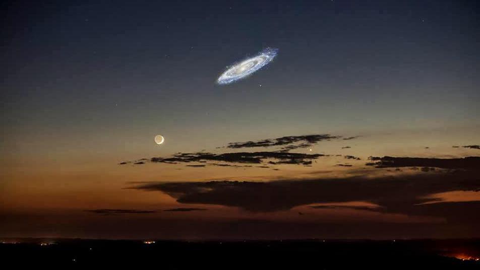 Jak wyglądają obiekty astronomiczne przez amatorski teleskop